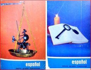 Libros de español.