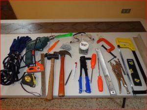 Casi la mayoría de las herramientas empleadas.
