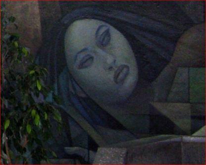 Mural: Integración de América Latina, detalle.
