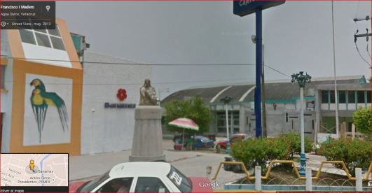 Monumento a la madre en Agua Dulce Veracruz