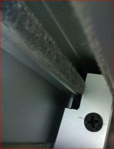 Detalle de la función del saque, permite que entre el traslape en el canal de la chambrana.