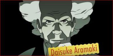 Daisuke, jefe de la Sección Nueve.